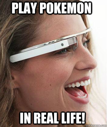 Pokemon Google Glass APP