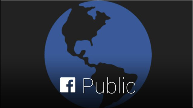 Facebook Google Glass APP share public