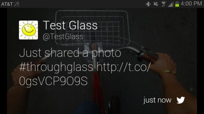 twitter google glass app