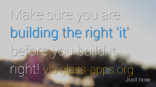 glasssimpretotyoingforgoogleglass