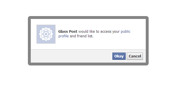 glasstofacebookpermissionfacebookaccess