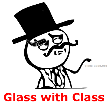 Google Glass Monocle Meme