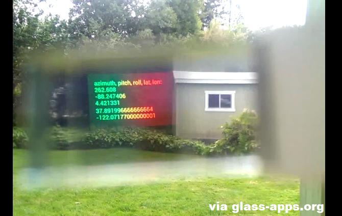 google glass sensors